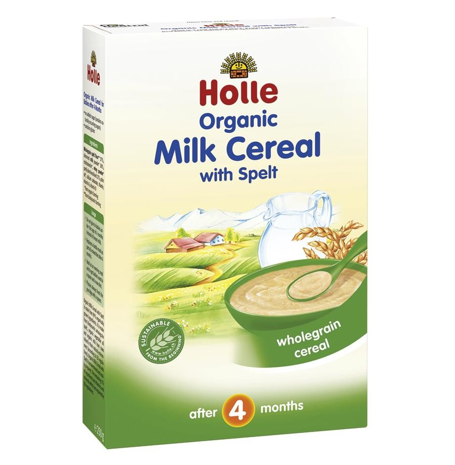 Organic Milk Cereal With Spelt