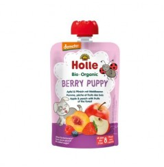 Berry Puppy - Apple Peach with Fruits of the Forest Pouch 100g