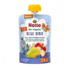 Blue Bird - Pear, Apple & Blueberry with Oats Pouch 100g
