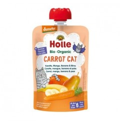 Carrot Cat - Carrot, Mango, Banana & Pear Pouch 100g