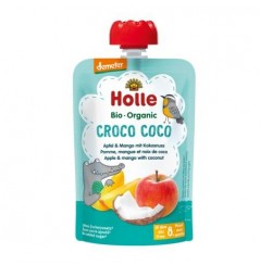 Croco Coco - Apple & Mango With Coconut Pouch 100g
