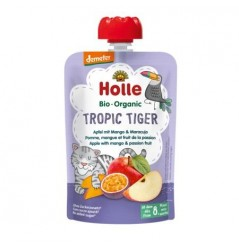 Tropic Tiger - Apple with Mango & Passion Fruit Pouch 100g