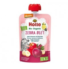 Zebra Beet - Apple & banana with beetroot Pouch 100g